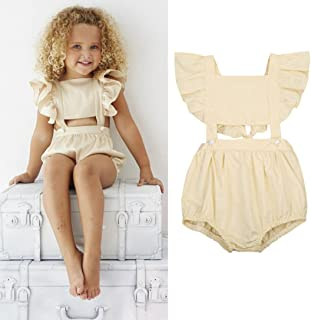 d152ee413ce Amazon.com  baby girl summer outfits  Beauty   Personal Care