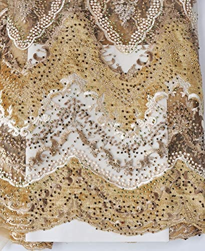 African velvet lace fabric _image0