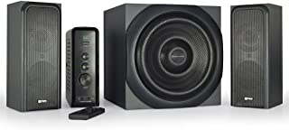 Thonet and Vander Ratsel Ultimate Gaming 2.1+1 Surround Sound Speakers (360 Peak Watt) + Enhanced Bass - German Engineered Includes Flug Bluetooth Adapter for Wireless Connection