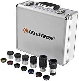 "CELESTRON 1.25"" Eyepiece & Filter Accessory Kit, Gray (94303)"