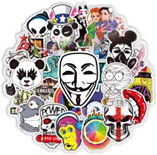 Colorful Graffiti Stickers (100 pcs) for Car Motorcycle Bicycle Luggage Graffiti Patches Skateboard Wall Decals 01