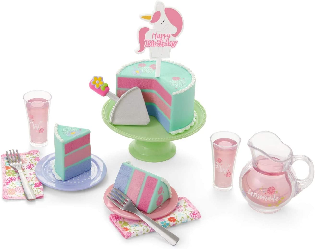 American Girl WellieWishers Birthday Treat Set for 14.5
