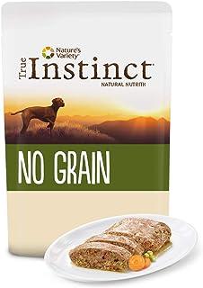 True Instinct No Grain - Nature's Variety - Terrina sin Cereales para Perros Medium-Maxi con Pollo - 300 gr - Pack de 8