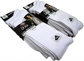 3 Pairs Mens Cotton with Lycra Smooth Knit Socks/UK 6-11 and 11-14