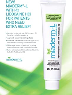 Miaderm-L Radiation Relief Lotion with 4% Lidocaine 4 Oz