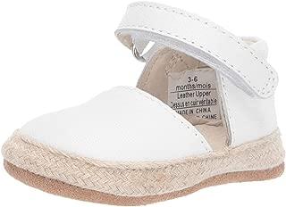 Girls' Espadrille-First Kicks Crib Shoe Shimmer 0-3 Months