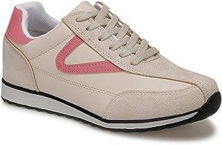 CS20055 Bej Kadın Spor Ayakkabı