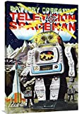 Global Gallery Budget GCS-376391-36-142 Retrobot Battery Operated Television Spaceman Gallery Wrap Giclee on Canvas Wall Art Print