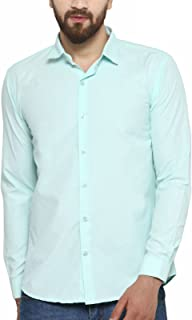 BEING FAB Men's Solid Formal Shirt…