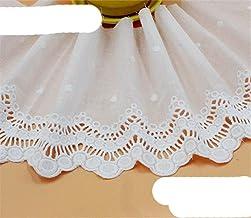 1 yard Largeur: 16,5 cm Exquis Coton Tissu Dentelle Garnitures pour Vêtement Brodé Tissu Dentelle Scrapbooking DIY Accesso...