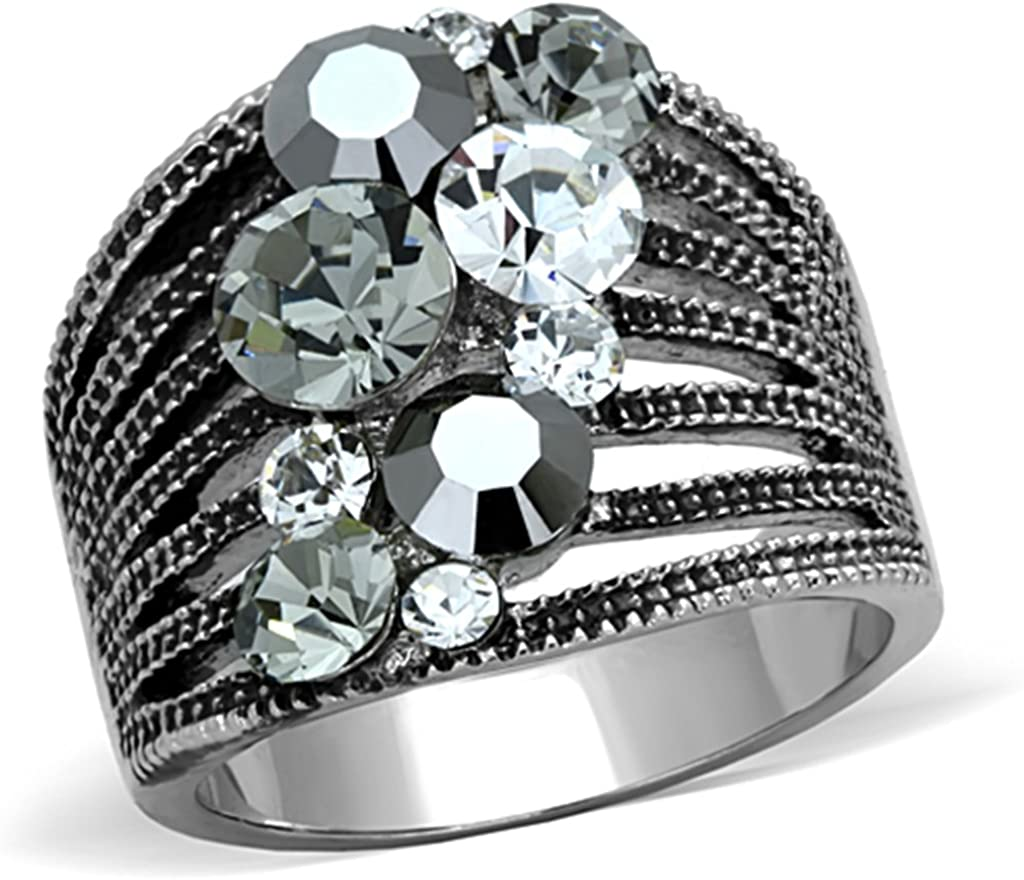 Marimor Jewelry Women's Cheap Don't miss the campaign Vintage Stainless Steel AAA Crysta Grade