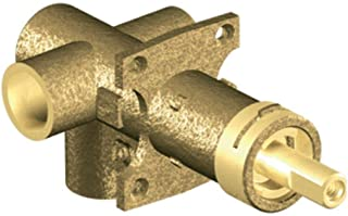 Moen 3372 M-PACT Brass Three-Function Shower Rough-In Transfer Valve, 1/2-Inch CC Connection