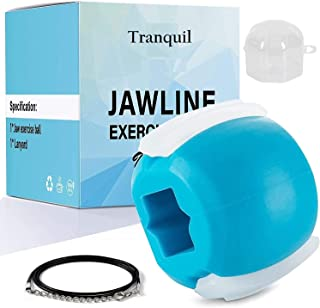 Tranquil Jaw Exerciser Jawline Face Neck Facial Toner Exercise (Beginner, 30 lbs resistance)