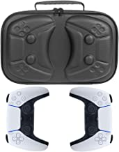 HIJIAO New Hard Protective Case for Playstation 5 DualSense Wireless Controller Can Store a Pair of PS5 Game Controllers a...