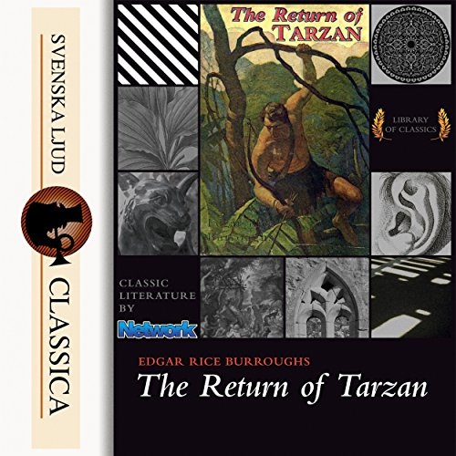 Page de couverture de The Return of Tarzan
