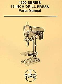 WALKER TURNER 1300 Series 15