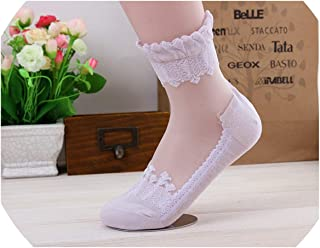 Clothes Lace Crystal Women Mesh Socks Women Lady Sexy Ultrathin Transparent Crystal Elastic Thin Short Socks
