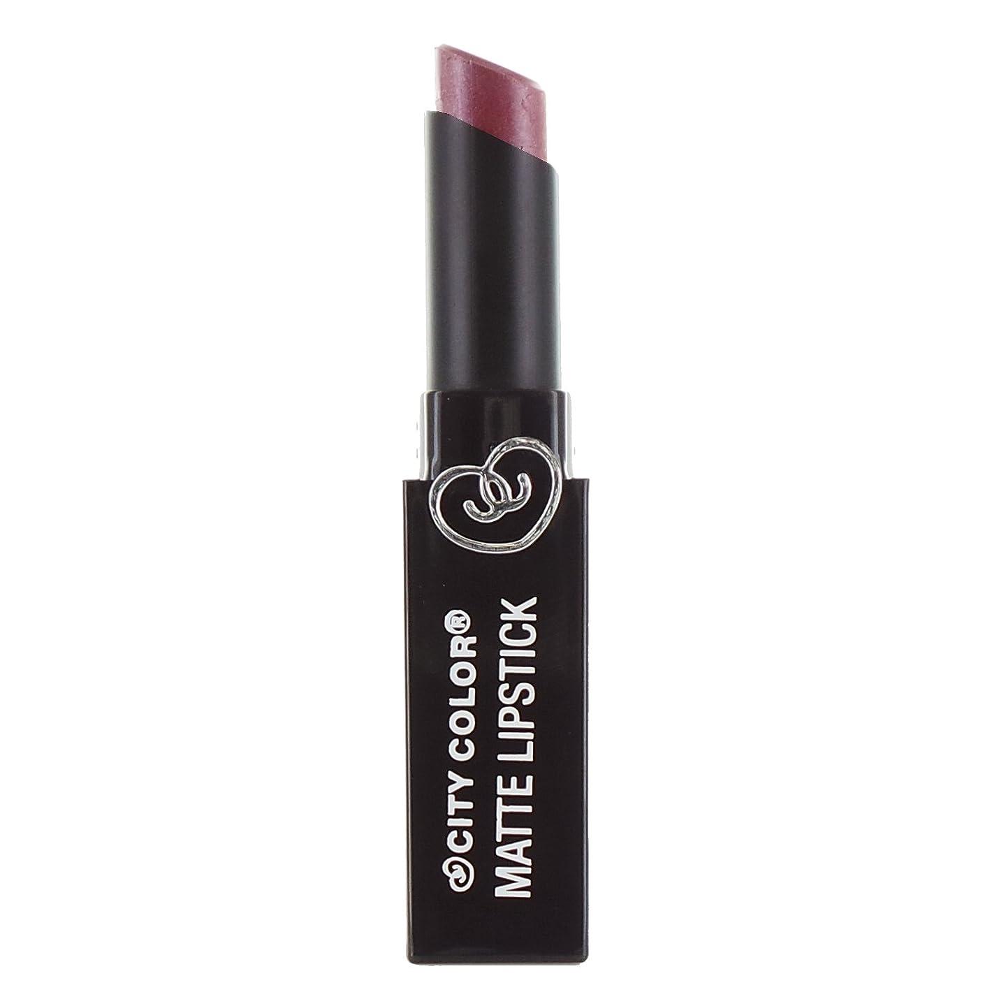 未接続ホイットニーエスカレーターCITY COLOR Matte Lipstick L0050B - Pansy (並行輸入品)