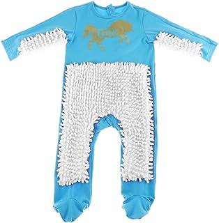MagiDeal Baby Kleidung Wischmop Strampler Overall Mädchen Jungen Jumpsuit Babykleidung zum Krabbeln, Farben auswählbar