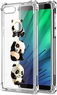 Suhctup Compatible con Xiaomi Mi Note 10 Lite Funda para Silicona Transparente con Dibujos Panda Diseño Patrón Cárcasa Ult...