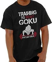 Training to Beat Goku Super Nerdy Ninja T Shirt Tee Black