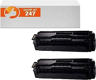 compatible for CLT-K504S compatible 2 Pack Black toner cartridges replacement for Xpress SL-C1810W,SL-C1860FW,CLX-4195FN, CLX-4195FW, CLP-415NW color laser printers