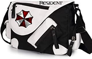 Cosplay Resident Evil Cosplay Backpack School Bag Travel Bag Pc Bag Resident College Bag men's ladies' bag, Black 2