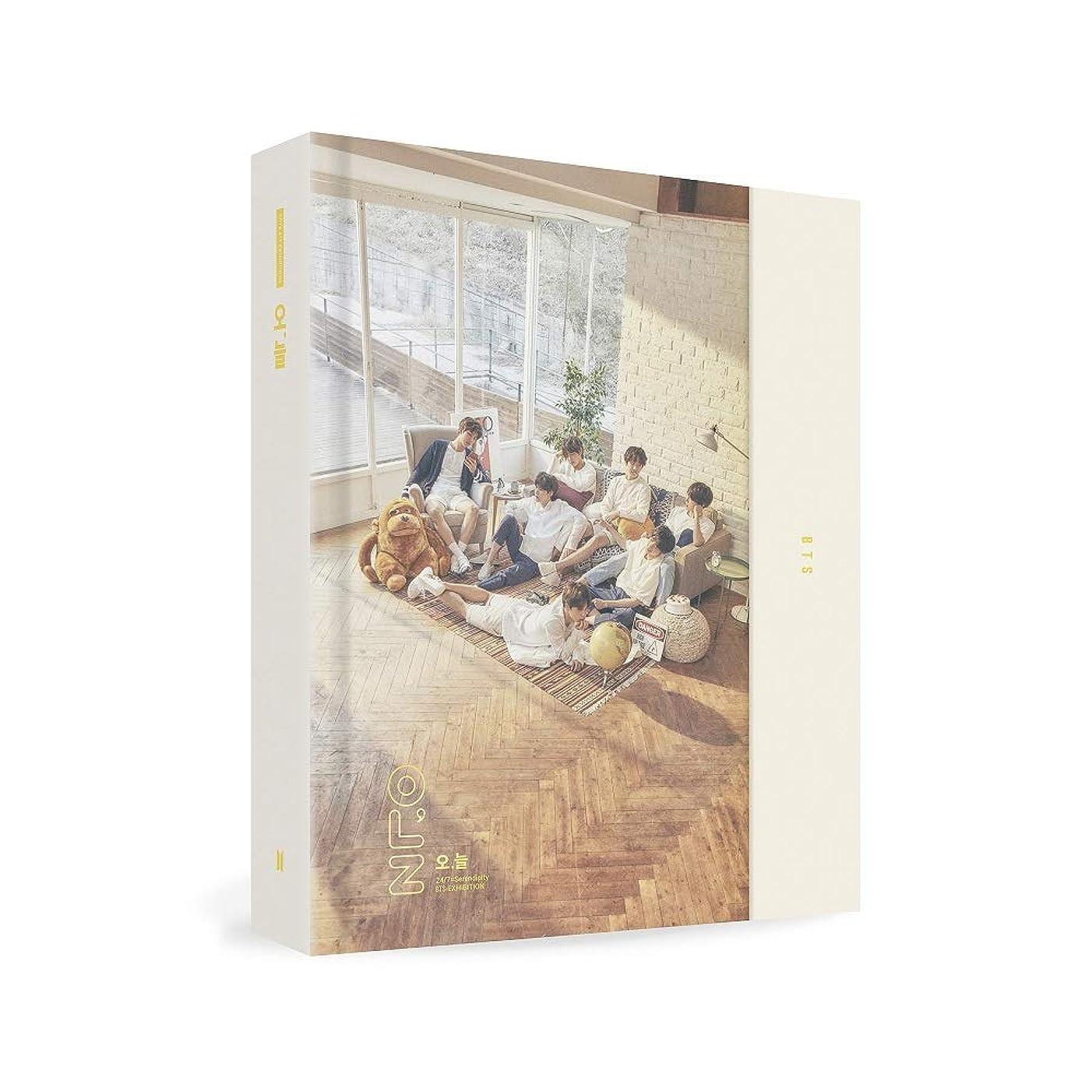 BigHit Ent BTS Exhibition Book 2018 [?,?] Exhibition Book + Photo Set + Random Sticker + Extra Photocards Set