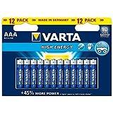 Varta High Energy LR03/AAA (Micro) (4903), 12x Blister, Blister Neu