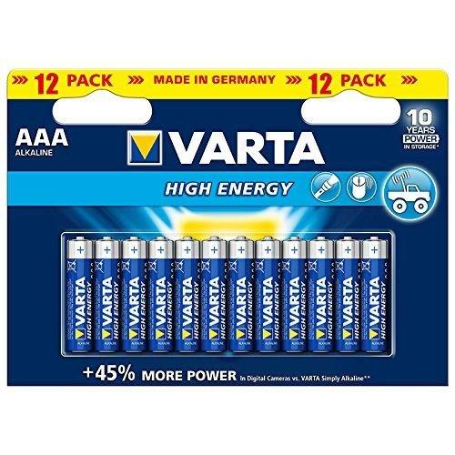 Varta Batterie Alkali Micro (AAA) - High Energy (power