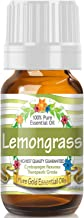 Pure Gold Lemongrass Essential Oil, 100% Natural & Undiluted, 10ml