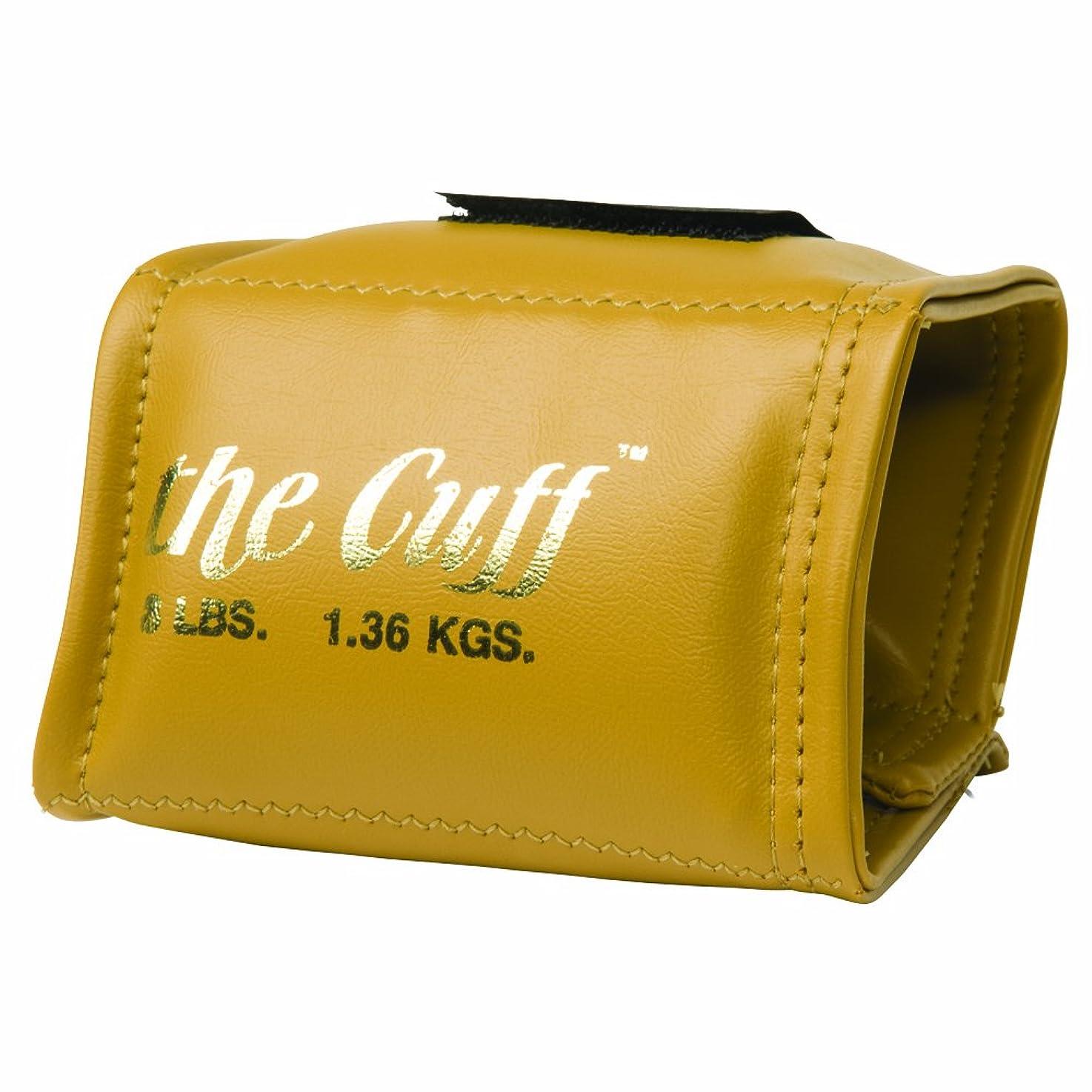 驚水銀の変装Cando 10-0207 Gold Cuff, 3 lbs Weight, For Wrist or Ankle by Cando