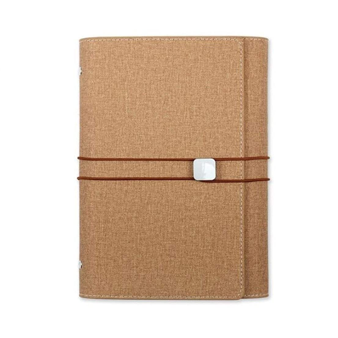 学生手帳、トラベルアカウント日記オーガナイザー - バウンドジャーナルノートA5手のアカウント、ルーズリーフ (Color : 2)