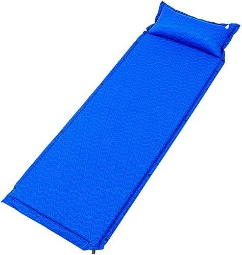 DEI QI Matelas pneumatique de camping de matelas gonflable de sommeil de 1-2 personnes avec le coussin gonflable portatif léger d'oreiller coussins de sommeil for la randonnée, les voyages et la rando