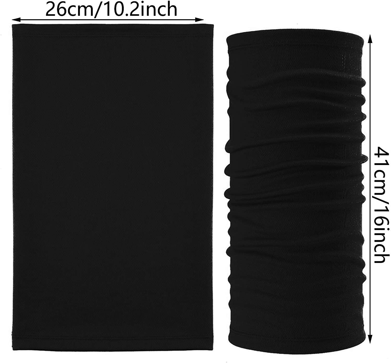 Neck Gaiters Balaclavas - Breathable Sports Scarves for Outdoor Activities Sun Protection for Cycling Running Fishing