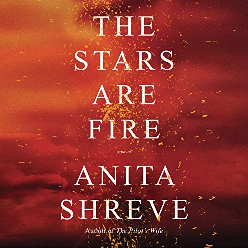 The Stars Are Fire audiobook cover art