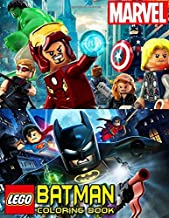 Lego Marvel Batman Coloring Book: 50+ Illustrations Exclusive Avengers Coloring Pages For Kids DC Universe Fan Books for Boys & Girls