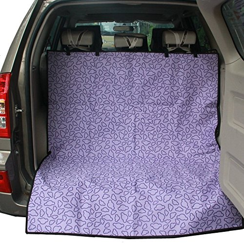 HONCENMAX Dog Cargo Liner Cover - Car Boot Liner Protector Waterproof - Pet Seat Cover Universal for Car SUV Truck Jeeps Vans - Multifunctional Beach Blanket Picnic Mat Purple