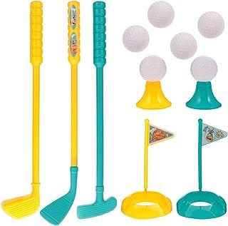 مجموعة لعب الجولف من كليسبيد، مجموعة واحدة متينة محمولة وعملية للآباء والأطفال، لعبة تعليمية تفاعلية لعبة جولف للأطفال لطل...