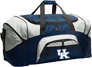 University of Kentucky Duffel Bag Large UK Wildcats Suitcase or Gym Bag for Men Ladies Him or Her!