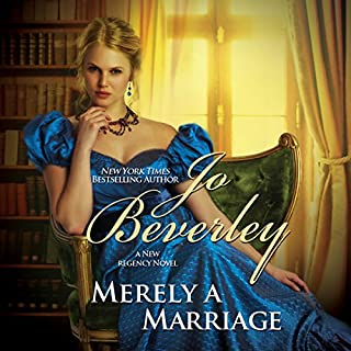 Merely a Marriage audiobook cover art