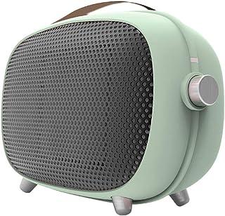 Mini Ventilador Calefactor Estufa PTC, Portátil Handy Heater 800 W, Reducción De Ruido Y Silencio 30Db, 3S De Calentamiento Rápido, Para Oficina En El Hogar, Dormitorio, Verde,Verde