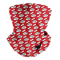 3d Novelty Printed, One Size . Suitable for Men/Women/Juniors/Big Girls/Big Boys/Unisex. Multifunctional Scarf:many ways to wear it - neckerchief, headband, wristband, hair-band, balaclava, face scarf, beanie, bandana, and more. Perfect for outdoor a...