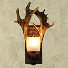 ETH Retro Wall Lamp Living Room Country Antler Lamp Aisle Bedroom Bedside Lamp Wall Lamp Antler Wall Lamp Guest Quality
