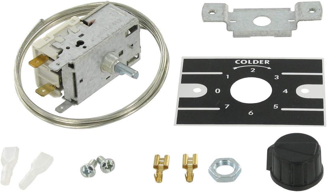 Serie K50 - Termostato de temperatura para refrigeración/refrigeración/congelador
