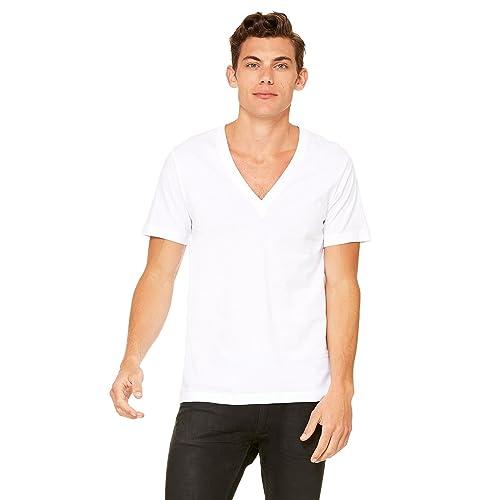 548e7fb44 Bella Canvas Unisex Jersey Short-Sleeve Deep V-Neck T-Shirt