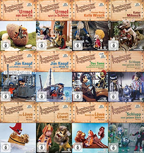 Augsburger Puppenkiste - Mega Collection (12 DVDs)