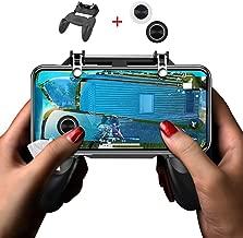 Mobile Game Controller PUBG Kit 2 in 1, GVKVGIH Mobile Gaming Trigger and Game Joystick (2 Pcs) for PUBG/Fortnite for Smartphone