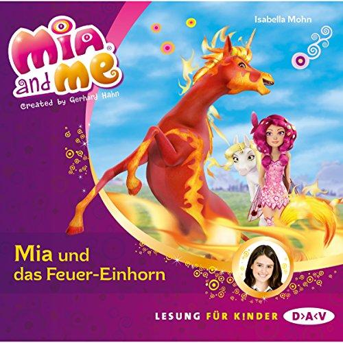Mia und das Feuer-Einhorn Titelbild