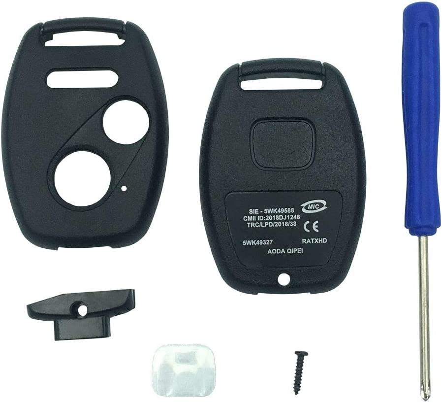 Replacement Keyless Entry Key Fob Accor Honda Sale SALE% OFF 2003-2007 Case 5% OFF Fit